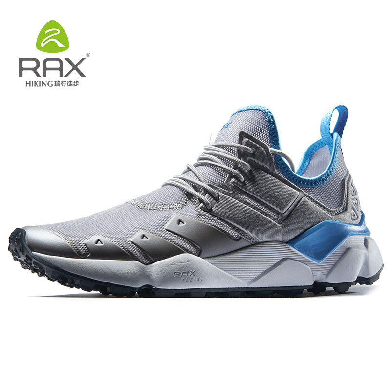 RAX Mens Running Sneakers Outdoor Breathable Sports Sneakers Men Running Shoes Athletic Cushioning Walking Jogging Trainers Man