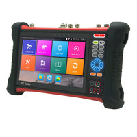HD 1920*1200 Retina Touch Screen 8MP AHD TVI CVI 5MP Support 1080P/output HDMI Input 4K Cable tracer Optical power meter test