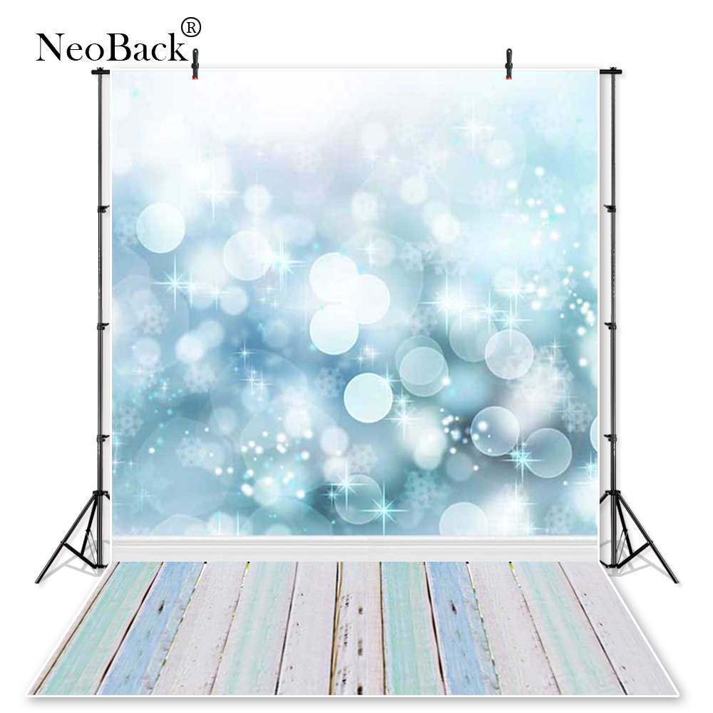 NeoBack 5x7ft poly vinyl fondo photo studio backgrounds kanak-kanak Bokeh Bubble hintergrunde Computer Painted Backdrop P0013