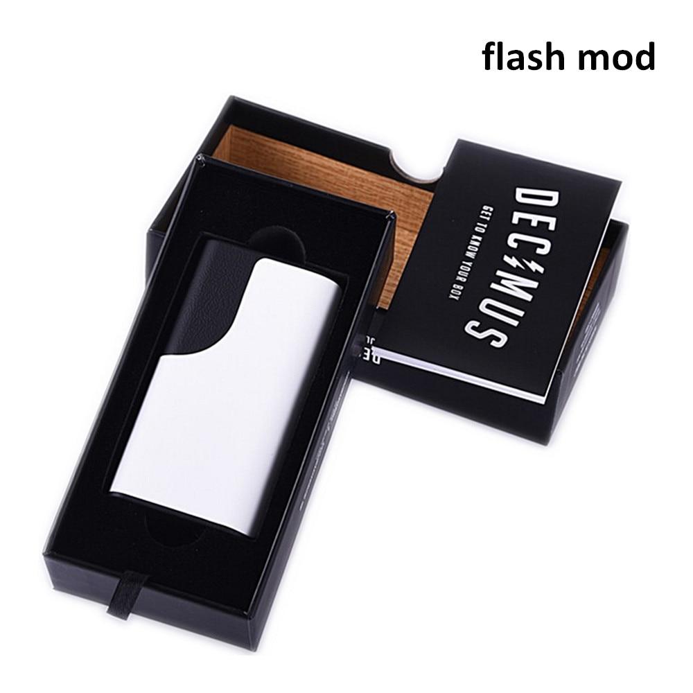 Original Vapors Flash Box Mod TC Mod Big Smoke Electronic Cigarette fit 2 18650 Battery E Cigarettes vape box mod Starter Kit романовы от царства до империи