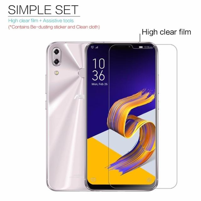 for Asus Zenfone 5 2018 Screen Protector Nillkin Clear / Matte Soft Plastic Film for Asus Zenfone 5 ZE620KL 2018 Not Glass
