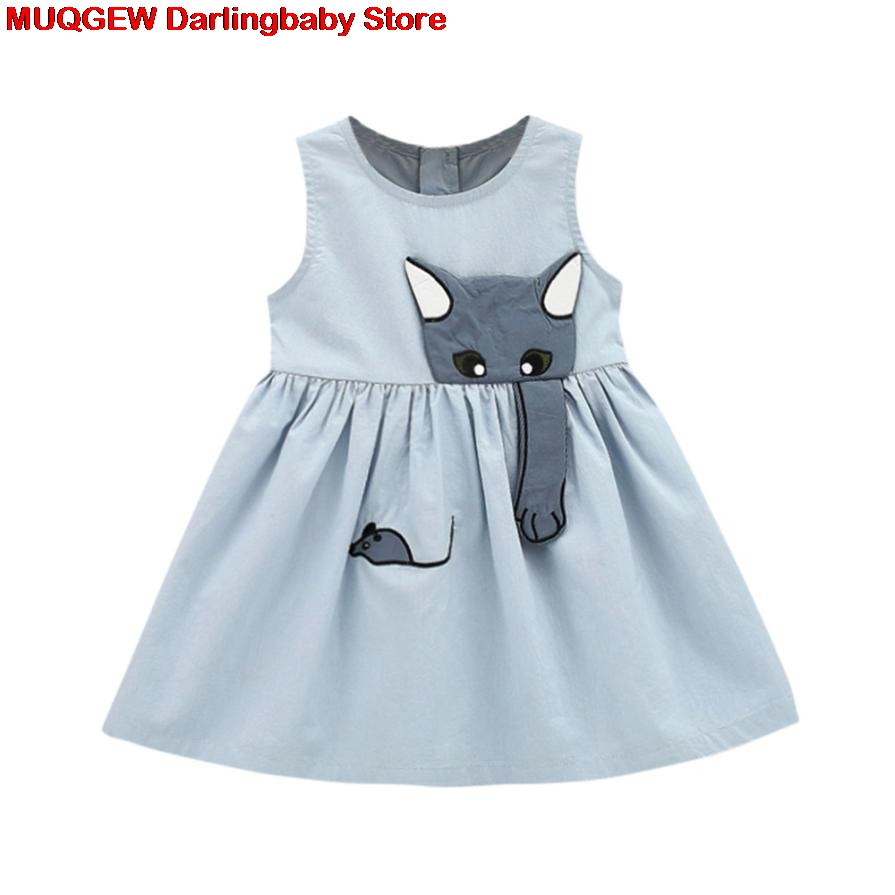 5e9b35fc6546f US $6.96 28% OFF|New Newborn Cartoon Muse Sleeveless Beach Sundress Clothes  Outfits Baby Dress Fashion Lovely Baby Girl Summer Clothes Streetwear-in ...
