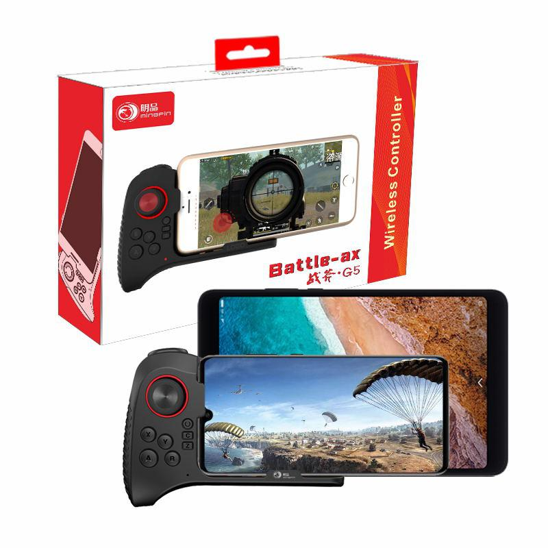 LeadingStar G5 Wireless Bluetooth Gamepad Handle Controller Game Pad Joystick for Android Smartphone for PUBG Fortnite