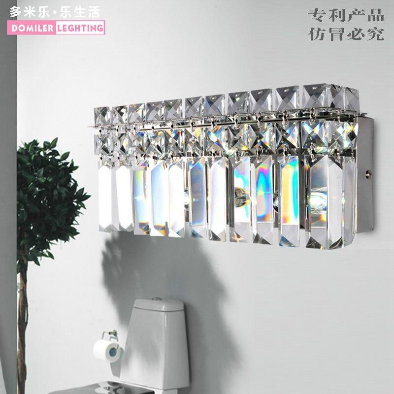 Современные светодиодный Бра Творческий Дизайн настенные бра огни прикроватные хрустальные светильники