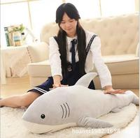 115cm simulation plush toys shark pillow stuffed with high quality doll birthday gift