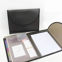 Multifunction Business Office Organizer Expanding File Folder A4 Briefcase Folder Bag For Documents
