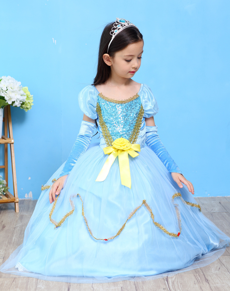 fashion birthday party dresses for girls 10 12 short sleeve 6 layers ...