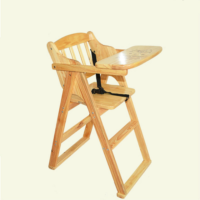 portable folding high chair glider rocking and ottoman replacement cushions multifunctional solid wood baby dining feeding rotary plate 0 5t bb