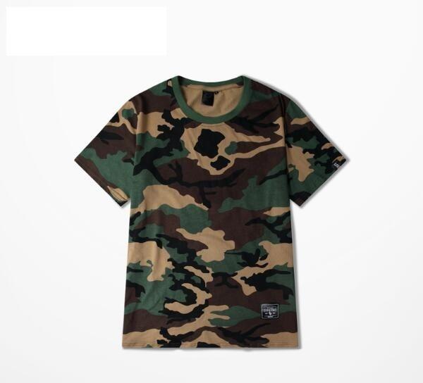 7408179b 2018 fashion Camo tshirts camouflage t shirts Men Casual streetwear hiphop  high quality shirts men T-shirts brand tees Swagger