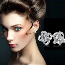 2018 Trendy earrings for women Simple Fashion Dress Eternal Star Earrings Stud Earrings Jewelry earrings Gift Brincos J04#N(China)
