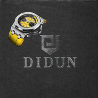 DIDUN Diver watch Man Top Luxury Brand Quartz Watch Men Military Chronograph Watch Shockproof 30m Waterproof Wristwatch