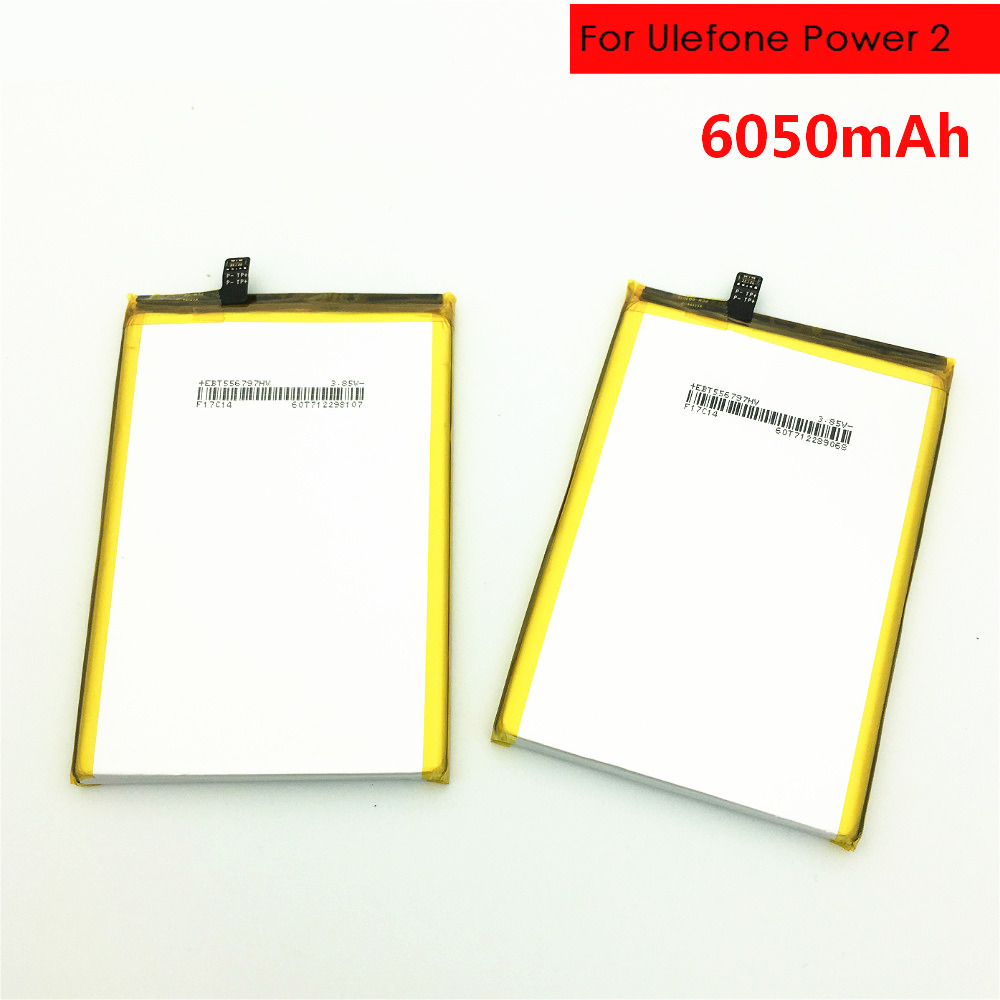 Energia da bateria do telefone móvel para Ulefone 2 Baterias de Backup 60500 mAh Longo tempo de espera