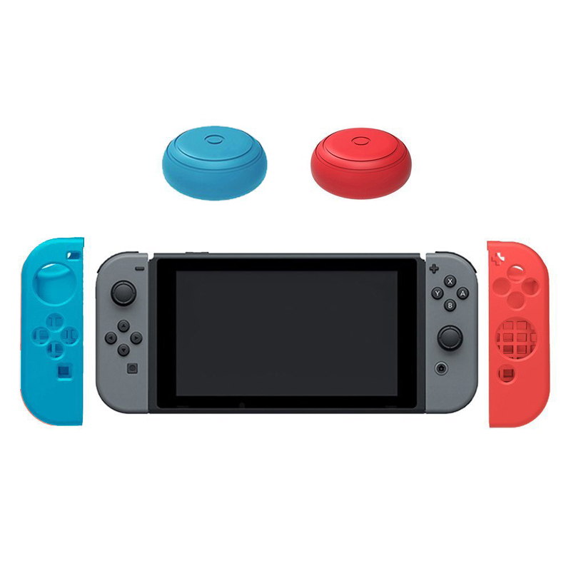 Купить с кэшбэком Travel Protective Hard Bag Shell+Silicone Case+Thumb Grips Caps+Card Case+Tempered Glass Film for Nintendo Switch NS Console