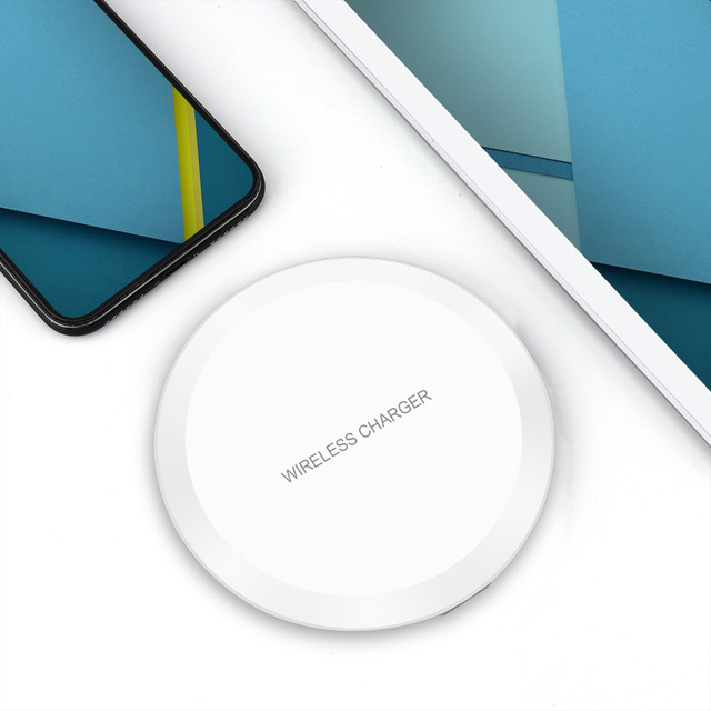 DCAE QI Wireless Charger For iPhone X 8 XS Max XR Samsung S9 S8 Plus Xiaomi Mix 3 2s Wireless Charging Pad Docking Dock Station 5