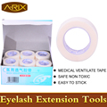 5pcs Medical Ventilate Adhesive Tape for eyelash extension High Quality non-woven tape professional makeup tools A-RIX Brand