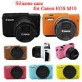 Nice Soft Camera bag Silicone Case Rubber Camera Protective Body Cover Case Skin For Canon EOS M10  EOSM10 EOSM 10 Camera Bag