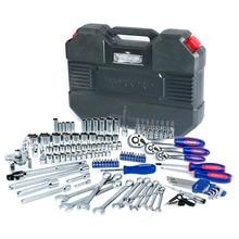 Workpro 123 шт. набор инструментов 1/4 «и 3/8» и 1/2 «, ключи Инструменты для авто-ремонта гаечных ключей Биты инструмент для ремонта Наборы