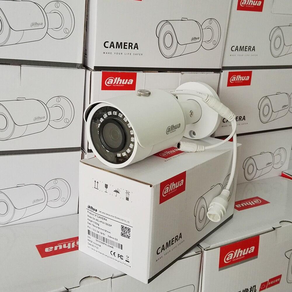 bilder für NEUE Dahua Ursprüngliche Englisch aktualisierbar IPC-HFW1420S 4MP 1080 P IP POE minigewehrkugel im freien IR Netzwerk CCTV überwachungskamera