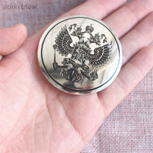 56mm Diameter 4pcs Russia Eagle Car Sticker Wheel Center Hub Caps Cover Rim National Emblem Badge Styling Decoration