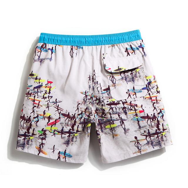 Gailang Brand Mens Beach Board Shorts Boxer Trunks Short Pants Men Sexy Swimwear Swimsuits Trunks Gay Plus Size 2017