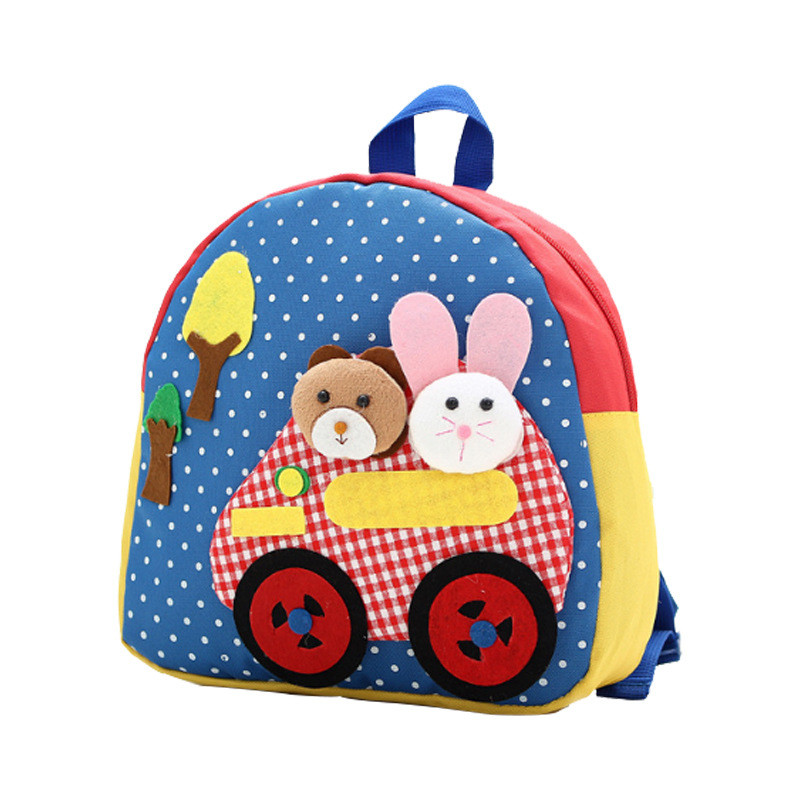 LXFZQ New 3-6 years old Childrens school bag small backpack For Boys/girls cute kids cartoon school satchel mochila infantil
