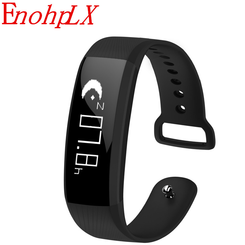 fitness smart bracelet pedometer Bluetooth heart rate monitoring waterproof IP67 smart w ...