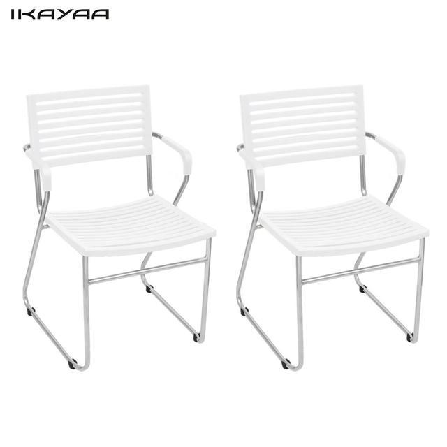 € 1462.71  Sillas de comedor apilables de 24 unids iKayaa con reposabrazos  silla blanca para comedor ES Stock en Sillas de comedor de Muebles en ...