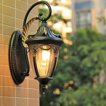 Balcony waterproof wall light outdoor European villa garden courtyard terrace wall door outdoor wall lamp lw527146py