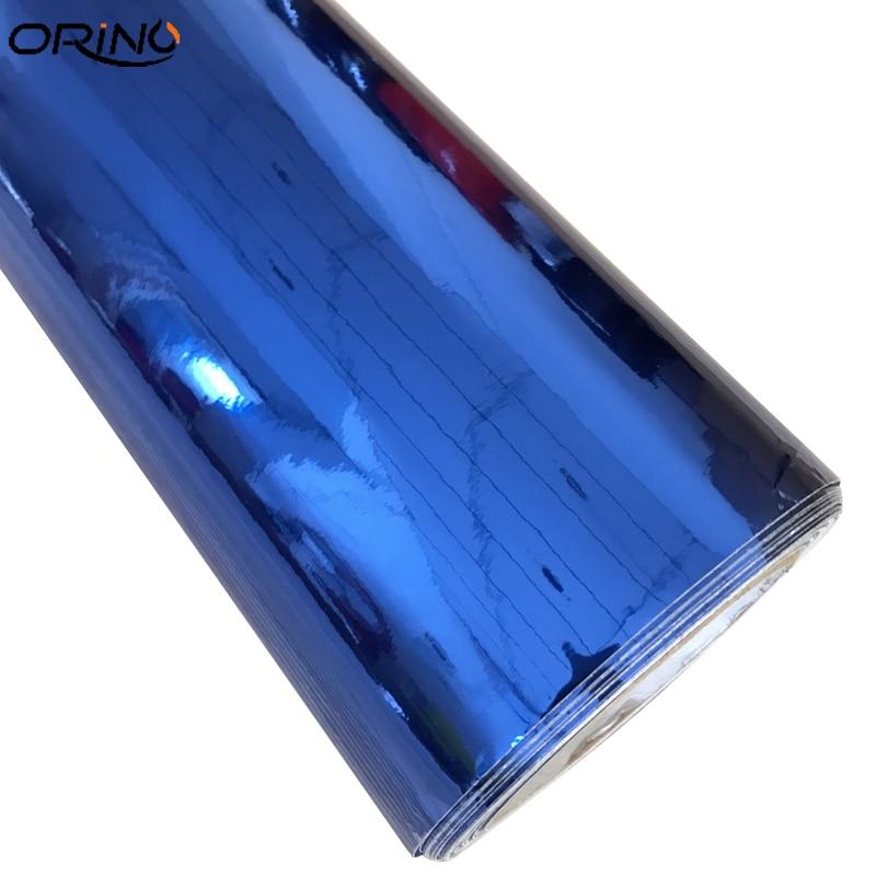 Chrome Blue Vinyl Film Sticker-4