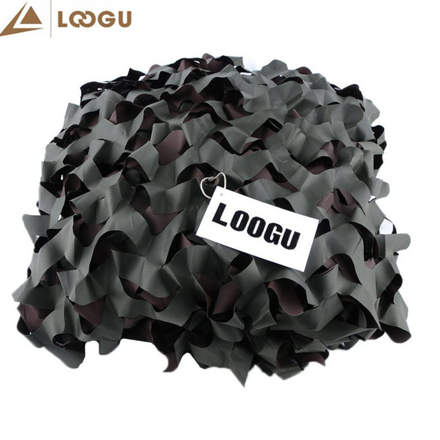 10M*10M Super Large Outdoor Camping Camouflage Net Sun Shelter 150D Polyester Beach Sun Shades UV Mesh ScreenTent Camouflage Net