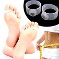1 Pc Silicone Magnetic Pé Anel Toe Massage Peso Durável perda de Anéis de Silício Magnético Dieta de Cuidados Com Os Pés Pé Massager Do Dedo Do pé A6