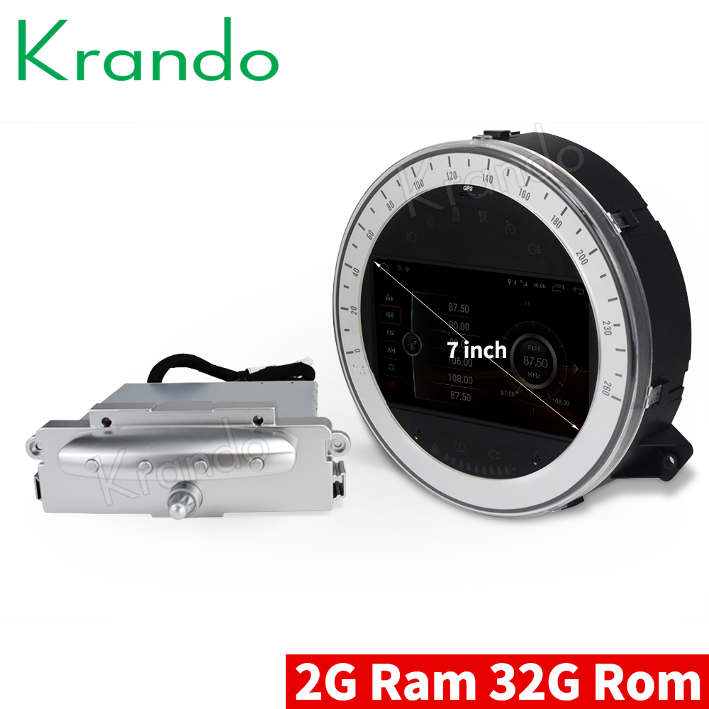 Krando 7 Android 8 1 car dvd radio audio palyer multimedia system gps navigation for BMW