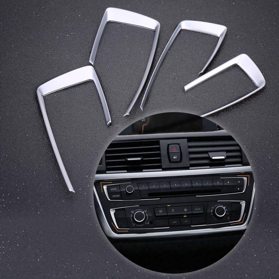 Center Console Dashboard Frame Cover Trim For BMW 4 3