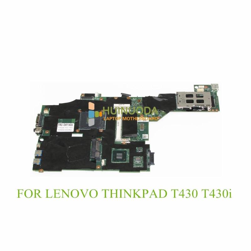 FRU 04X3641 04Y1406 04W6625 00HM303 04X3639 laptop motherboard For lenovo thinkpad T430 T430I DDR3 Mainboard