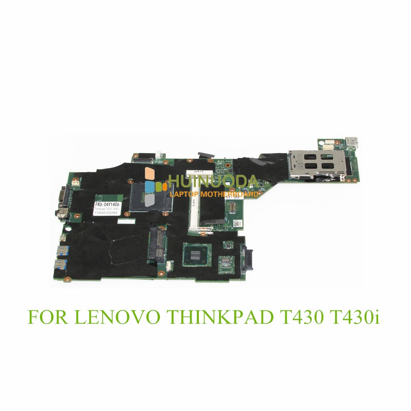 NOKOTION FRU 04X3641 04Y1406 04W6625 00HM303 04X3639 laptop motherboard For lenovo thinkpad T430 T430I DDR3 Mainboard fru 63y1896 for lenovo thinkpad w510 laptop motherboard qm67 ddr3 nvidia quadro fx 880m 15 6 inch