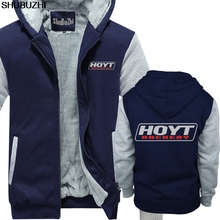 Hoyt archery huntinger bows 로고 블랙 겨울 두꺼운 후드 티 자신 만의 디자인 캐주얼 재밌는 두꺼운 후드 sbz1120