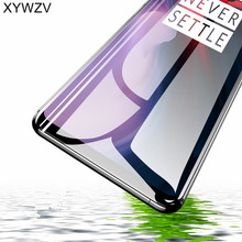 Full Glue Tempered Glass For Oneplus 6T Screen Protector Protective Film 1+6T Cover <