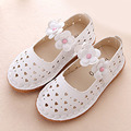 2017 Spring Fancy Girls Shoes Flower Ankle Strap Princess Shoes Children Ballet Shoes Kids Girls Ballerinas