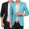 Slim Fit chaqueta de hombre para más tamaño 5XL 6XL 4XL XXXL 2XL-M 5 colores hombre primavera de 2014 Terno Masculino traje de hombre chaquetas Casual