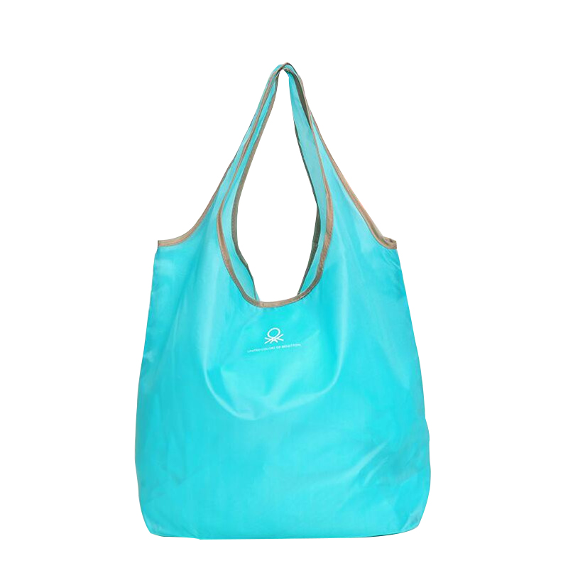 2Pcs Foldable Shopping Bags Travel Fashion Reusable Grocery Handbag Durable Multifunction Home Storage Bag Accessories Supplies