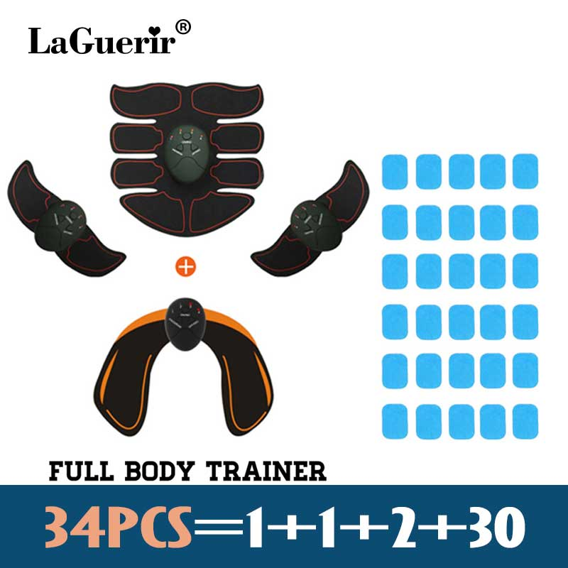 EMS Trainer Muscle Hip Stimulator ABS Fitness Buttocks Massage Butt Lifting Buttock Toner Trainer Slimming Massager Unisex ems hips trainer