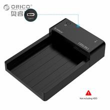 ORICO Werkzeug-freies Typ C Festplattengehäuse USB 3.1 zu SATA 2,5 & 3,5-zoll Externe Festplatte Docking Station Unterstützung UASP & 8 TB Sticks