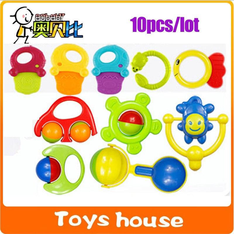 pcslot juguetes para bebs de meses beb playgro sonajeros mviles juguetes educativos