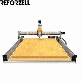 Lead CNC Machine Mechanical Kit Professional Wood Router Machine Mechanical kit with 4pcs Nema23 Stepper Motors