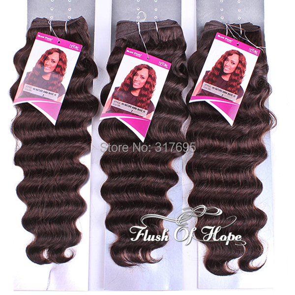 Mixed Size Black Pearl Anna Wave Hair Weave Weft Brazilian Remy Hu