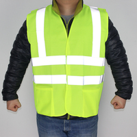 Reflective Safety Clothing High Visibility For Working Outdoor Warning Light Shirt Car Styling Outdoor Vest FGYLA001