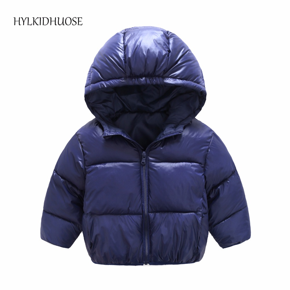HYLKIDHUOSE 2017 Baby Girls Boys Winter Coats Infant/Newborn Cotton-Padded Clothes Children Outdoor Hooded Jacket Kids Outerwear children winter coats jacket baby boys warm outerwear thickening outdoors kids snow proof coat parkas cotton padded clothes