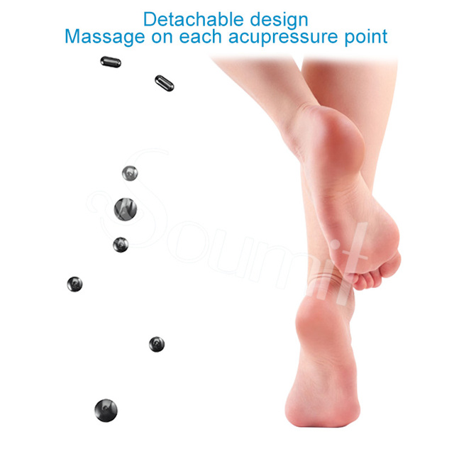 Soumit Magnetic Therapy Massage Insoles for Men Women Weight Loss Promote Blood Circulation Foot Magnet Health Care Shoe Pads 1