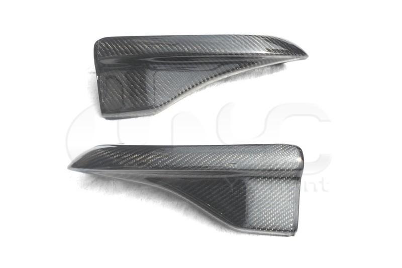 2008-2010 Subaru GRB STI Chargespeed Bottom Line Style Rear Bumper Spats Caps Corner Extension CF   (6)