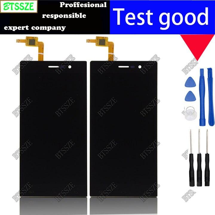 imágenes para Negro blanco pantalla lcd + touch Panel de Cristal Digitalizador Reemplazo asamblea de pantalla para DOOGEE dg900